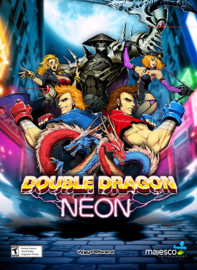 Скачать игру double dragon neon на пк