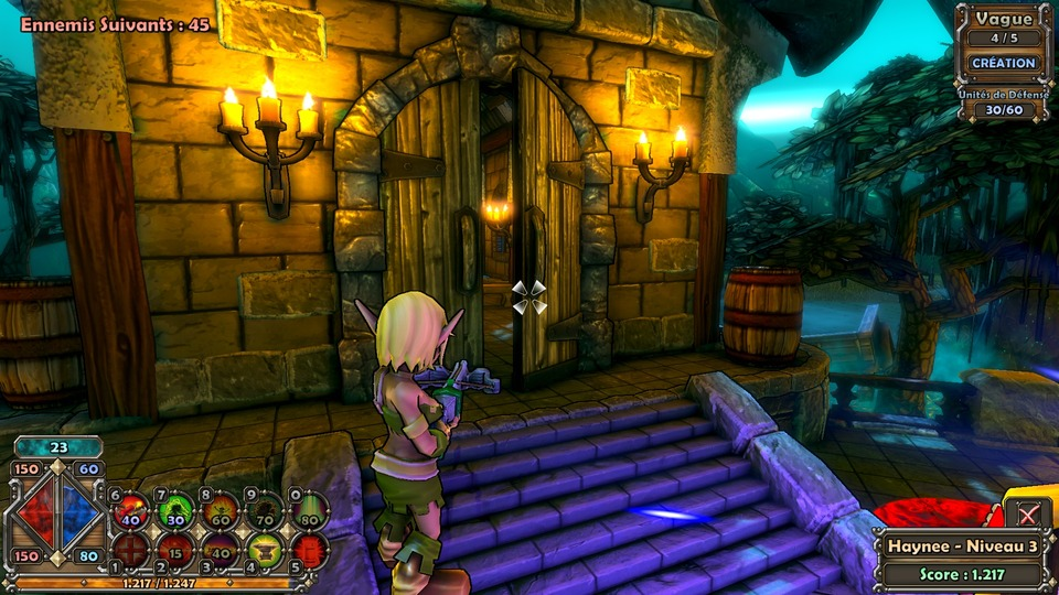Скачать игру Dungeon Defenders / Данжен Дефендерс бесплатно.
