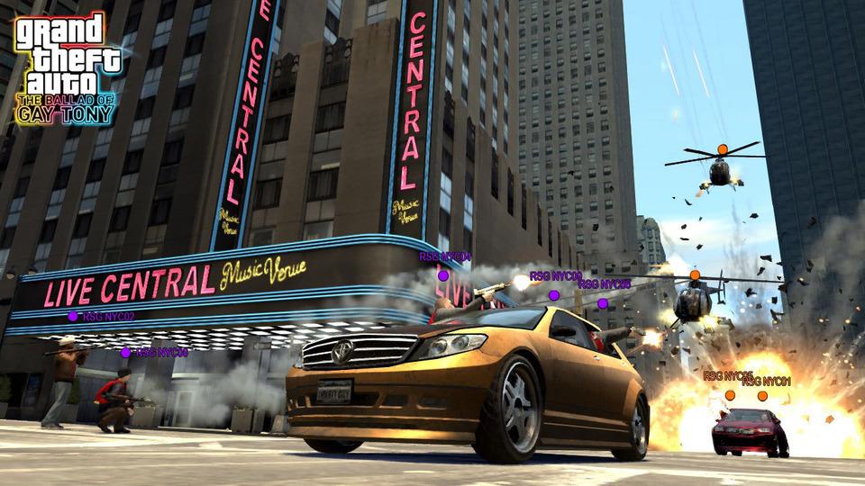 Судя по недавней информации, дополнение The Lost and Damned для игры Grand Theft