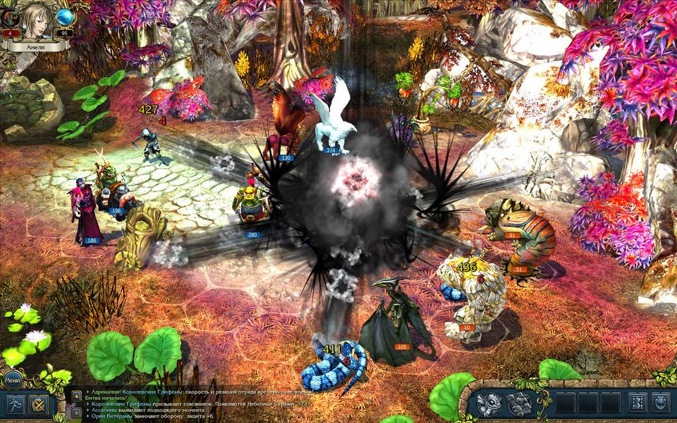 Скриншот #5 - King`s Bounty. Принцесса в доспехах PC, Jewel, русская