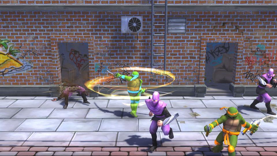Игру Turtle Mutant Ninja Turtles
