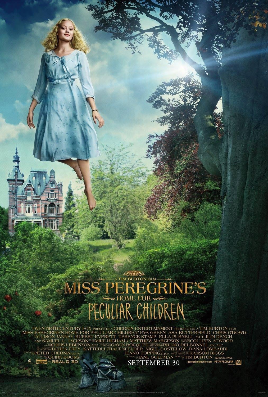 рецензии на фильм дом странных детей мисс перегрин Miss