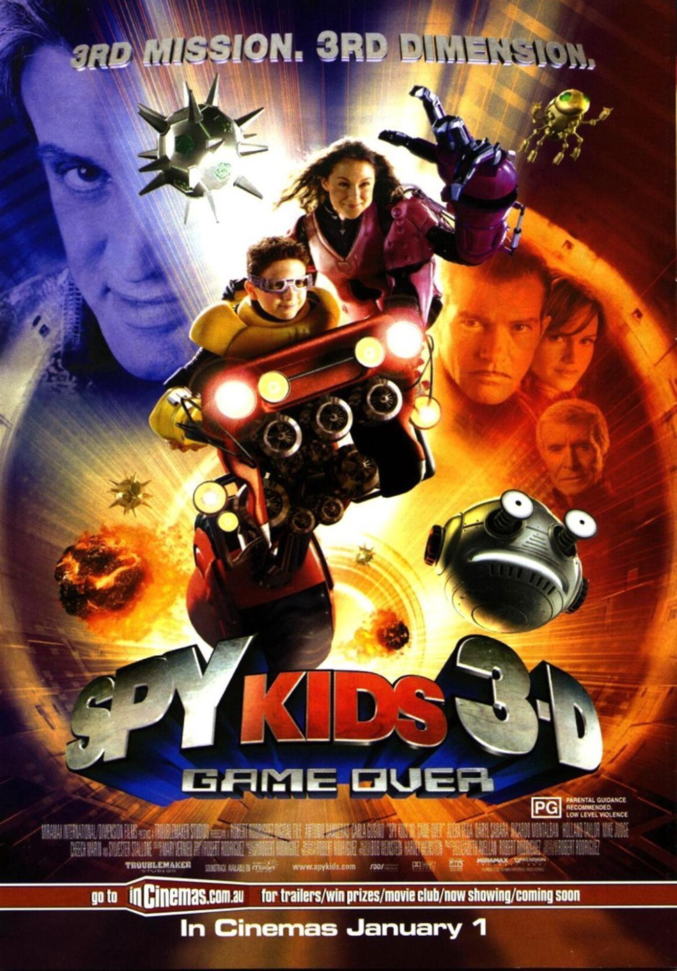 дети шпионов сериал