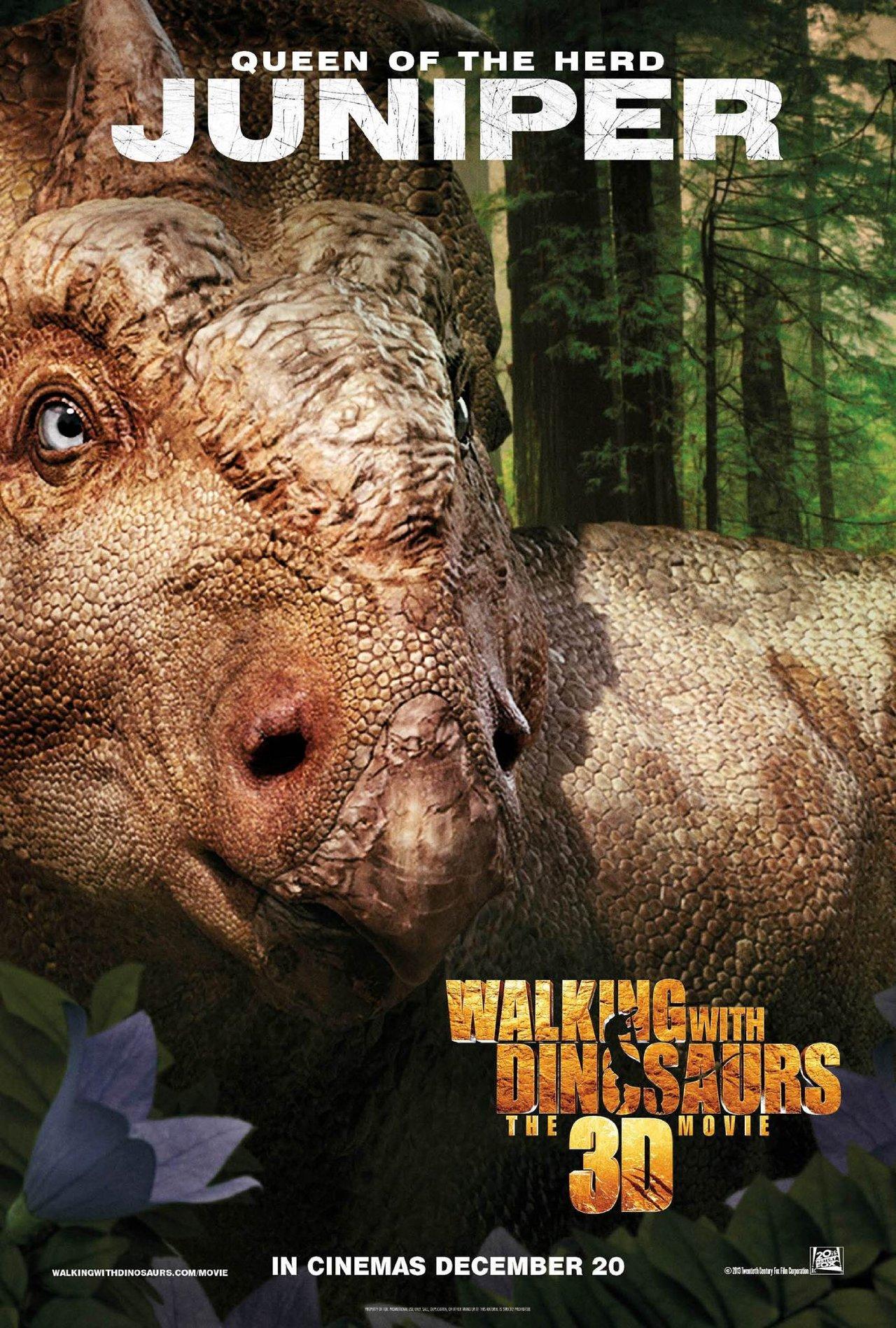 смотреть фильм прогулки с динозаврами 3d